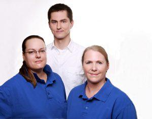 Das Team der Zahnarztpraxis Peer Meier in Hamburg Wellingsbüttel